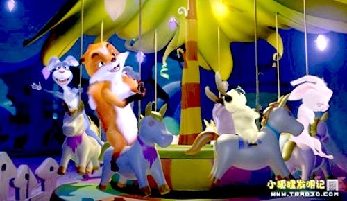 """让它们成为启迪新时代儿童的""""精神导师"""",其原创动画电影《动物狂欢节"""